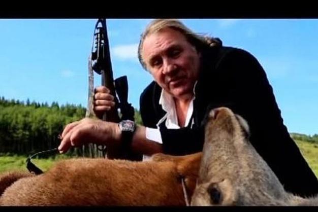 Depardieu, Cvstos et la chasse au cerf