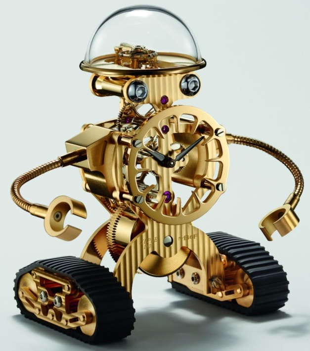 Sherman : le petit robot de MB&F x L'Epée
