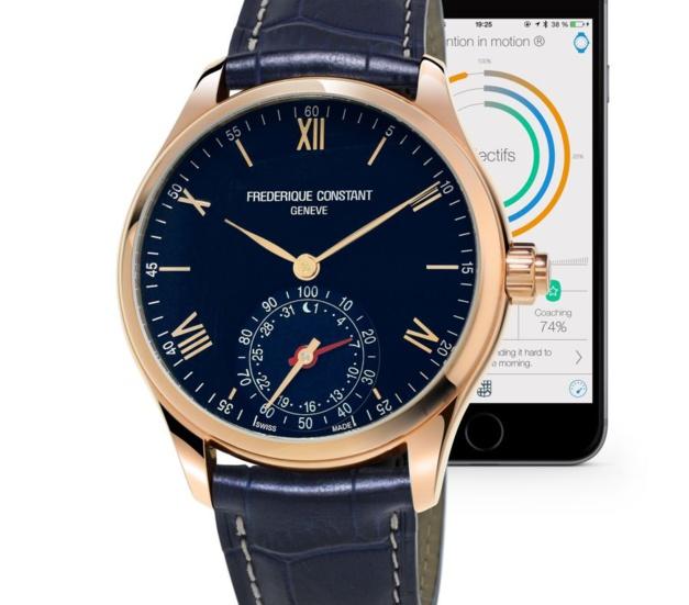 Frédérique Constant Horological Smartwatch : voyages, voyages...