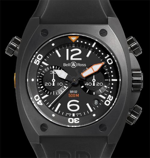 Instrument BR02 chronographe