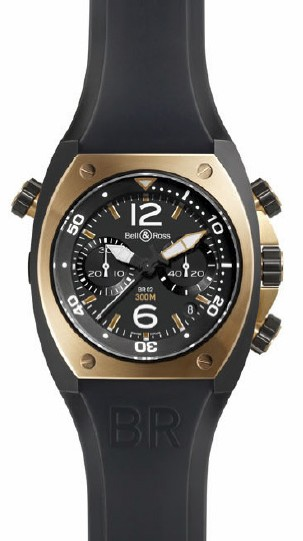 Instrument BR02 : la plongeuse Bell & Ross devient chronographe