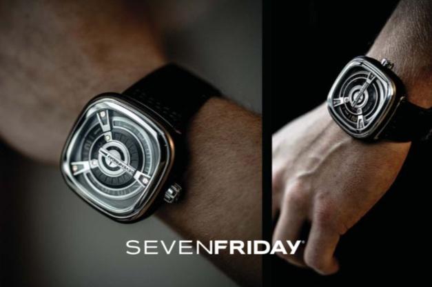 SevenFriday M1/03 : l'heure est d'or