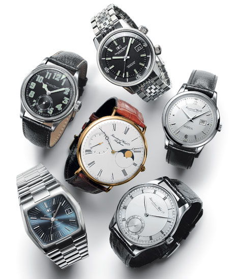 IWC Vintage collection : les six modèles d'origine
