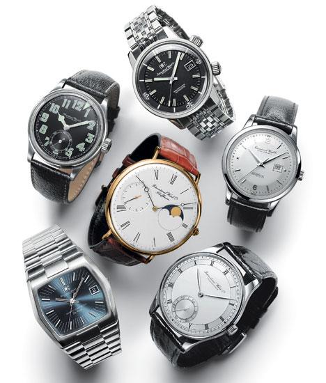 IWC Vintage collection : les six modèles d'origine