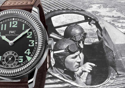 IWC Vintage collection : la montre d'aviateur à remontage manuel
