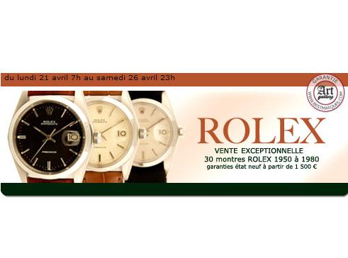 Vente De Rolex Vintage Sur Le Site Internet