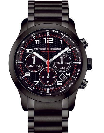 Chronographe PTC P6612 de Porsche Design : pour prendre de vitesse l'air du temps