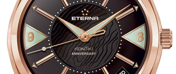 Eterna KonTiki Anniversaire : édition spéciale en or rose pour les 50 ans de ce modèle mythique