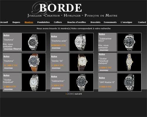 Borde Joaillier : des montres d'occasion en plein cœur de Dijon