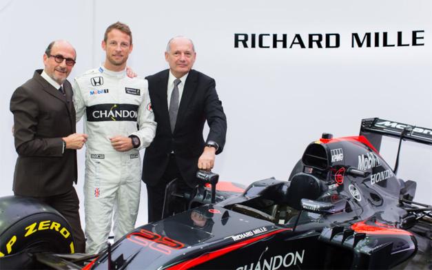Formule 1 : Richard Mille, partenaire de McLaren Honda