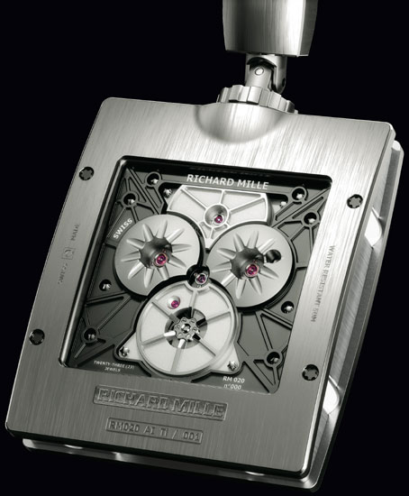 RM 020 : une montre de poche tourbillon chez Richard Mille