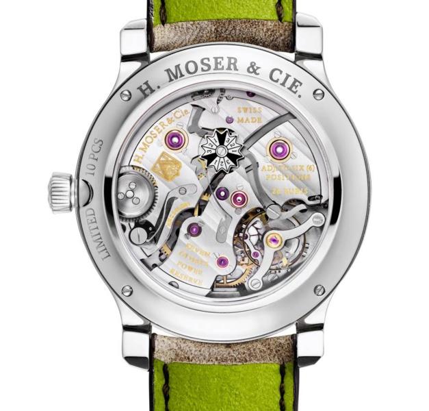 H.Moser : un QP acier ultra-limité