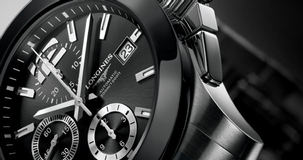 Longines Conquest céramique