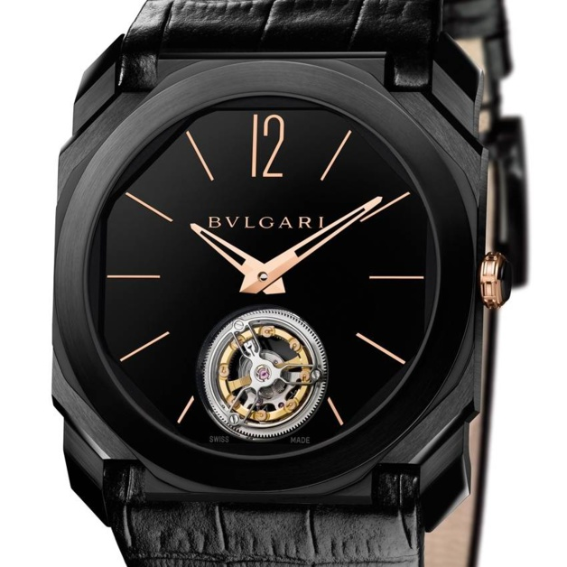 Bulgari Octo Ultranero Finissimo Tourbillon