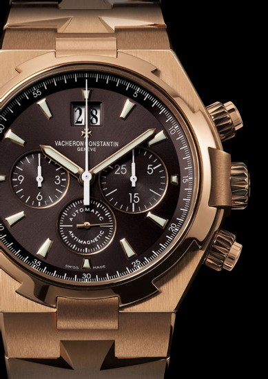 Overseas Vacheron Constantin en or rose