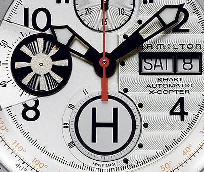 La X-Copter de Hamilton : la montre des pilotes d'hélicoptère
