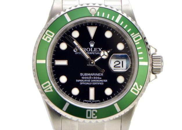 "Rolex Submariner ""verte"""