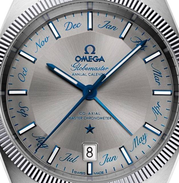 "Omega Globemaster ""Calendrier Annuel"" : belle nouveauté 2016"
