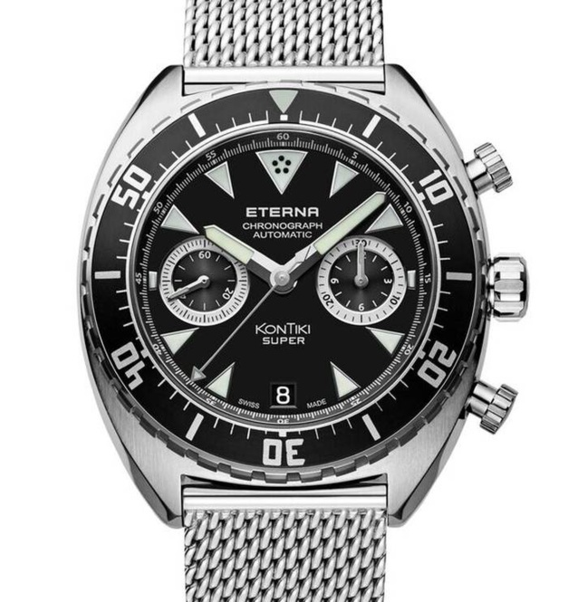 Eterna Super KonTiki Chrono flyback