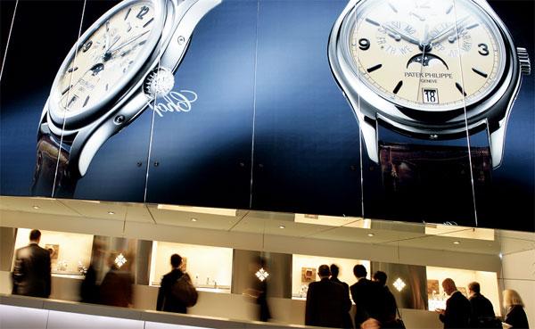 Foire de Bâle 2008 : le marché de la montre de luxe ne connait pas la crise