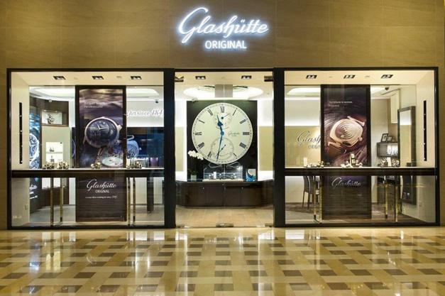 Glashütte Original, Marina Bay Sands, Singapour