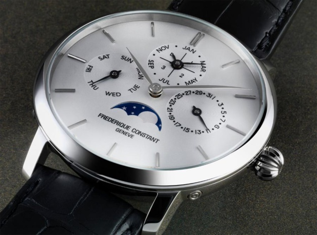 calendrier perpetuel seculaire Frederique constant Slimline Manufacture 9118728-14512780