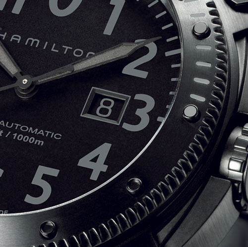 Khaki Belowzero Hamilton : une montre de plongée et trois versions disponibles