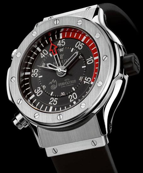 Des chronomètres Hublot équiperont les arbitres de l'Euro 2008
