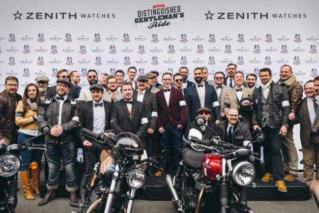 Zenith et le Distinguished Gentleman's Ride contre le cancer de la prostate