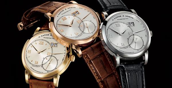 Grande Lange 1 de Lange and Söhne : de nouveaux cadrans monochromes azurés pour une montre toujours aussi élégante