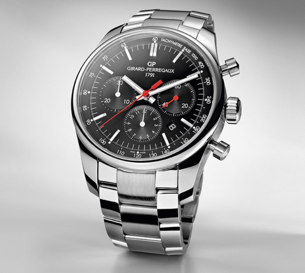 Girard-Perregaux Competizione Stradale sur bracelet acier