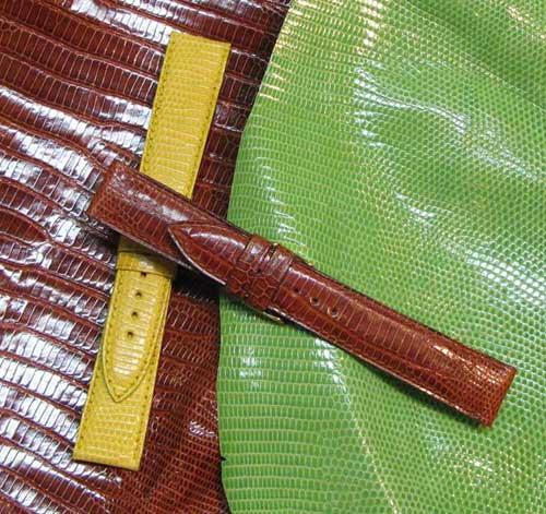 Le lézard : un cuir riche d'histoire, chronique du bracelet-montre d'ABP