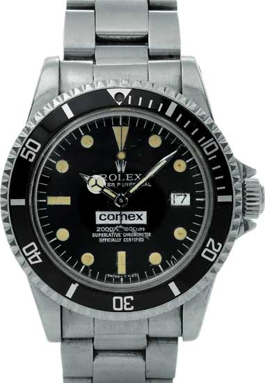 Lot 201 - Ref. 1665 Comex Sea-Dweller en acier