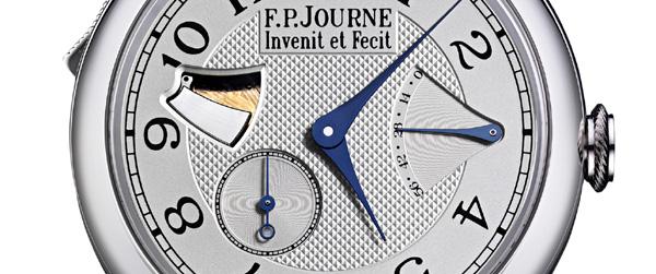 François-Paul Journe propose une Répétition minutes Souveraine ultraplate