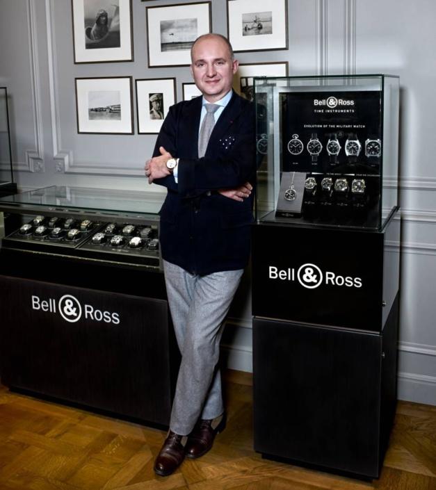 Bell & Ross : Carlos Rosillo reprend la direction de la filiale américaine
