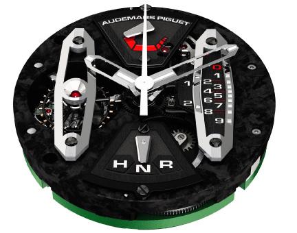 Tourbillon chronographe Royal Oak Concept Carbone : retour vers le futur