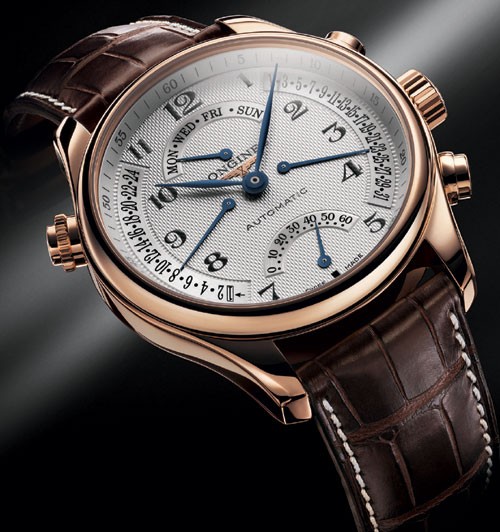 The Longines Master Collection Retrograde : une nouvelle version en or rose
