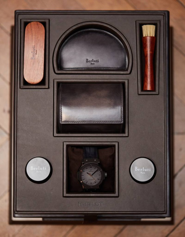 Hublot Classic Fusion Berluti : cuir racé