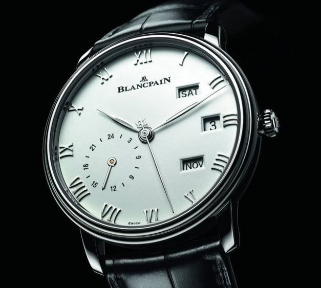 Blancpain Villeret Annuel GMT en acier : une lisibilité absolue