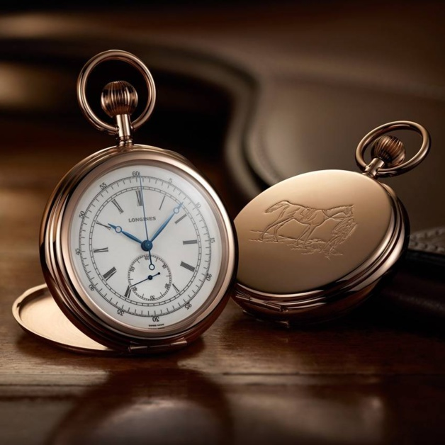 The Longines Equestrian Pocket Watch Jockey 1878