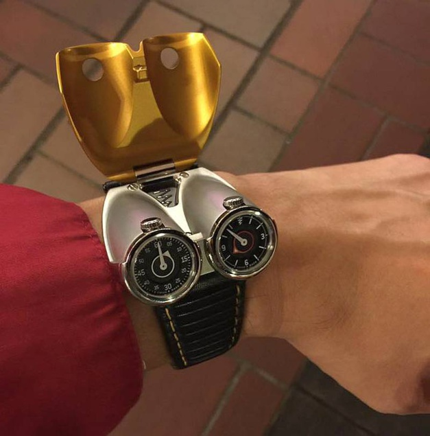 Azimuth Twin Turbo : montre vrombissante