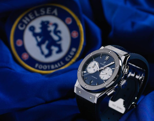 Classic Fusion Chronograph Chelsea : Hublot gets the Blues