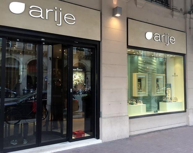 Frédérique Constant s'installe chez Arije rue Castiglione