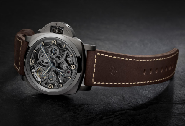Panerai Luminor Lo Scienziato Tourbillon GMT Titane