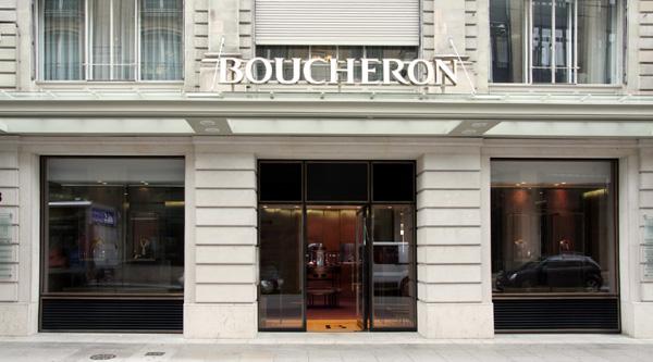 Boucheron ouvre une boutique à Genève