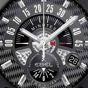 1911 Tekton d'Ebel, deux montres pour deux des plus prestigieux clubs de foot, Arsenal et Bayern de Munich