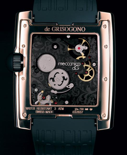 Meccanico dG de Grisogono : un avant-goût de la montre de demain ?