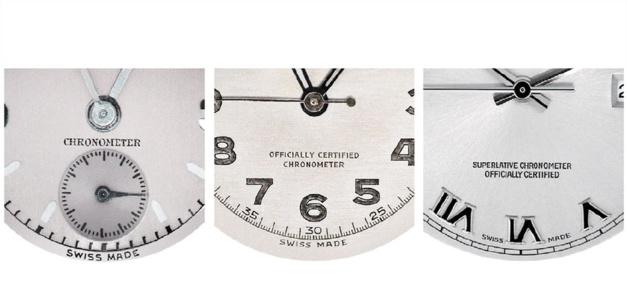 Chronomètre officiellement certifié : la signature Rolex