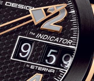 Indicator P'6910 Porsche Design : ce chrono à affichage numérique mécanique se pare d'or rose