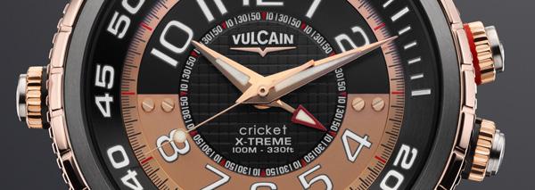Vulcain Cricket Diver X-treme : une montre réveil de plongée qui sonne… même sous l'eau